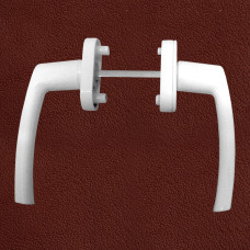 uPVC Casement Door Handle - McCoy CDH-1 Square - W...