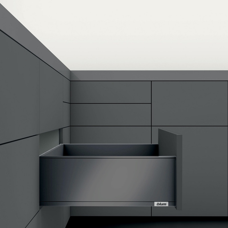 Blum Legrabox Pure C-Height Inner Drawers Terra Black Matt (550.57.390)