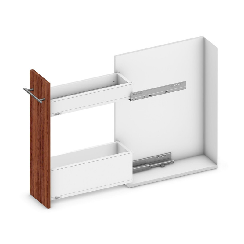 Blum Legrabox Pure Narrow Cabinet Silk White (550.57.705)