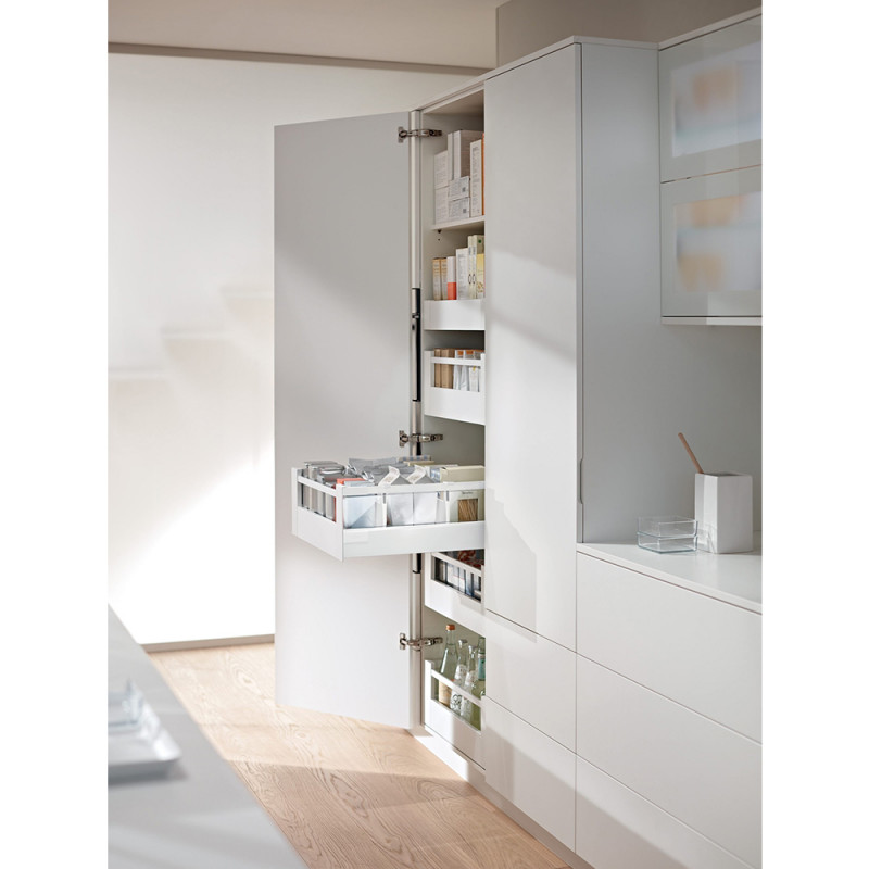 Blum Legrabox Pure Spacetower Silk White Matt (550.56.111)