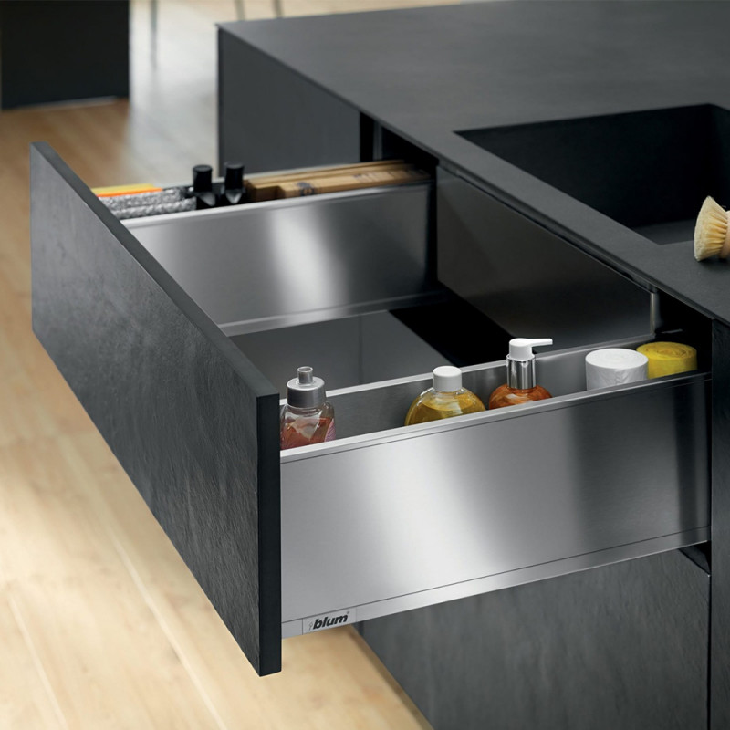Blum Legrabox Pure Under Sink Unit Orion Grey Matt (550.57.511)