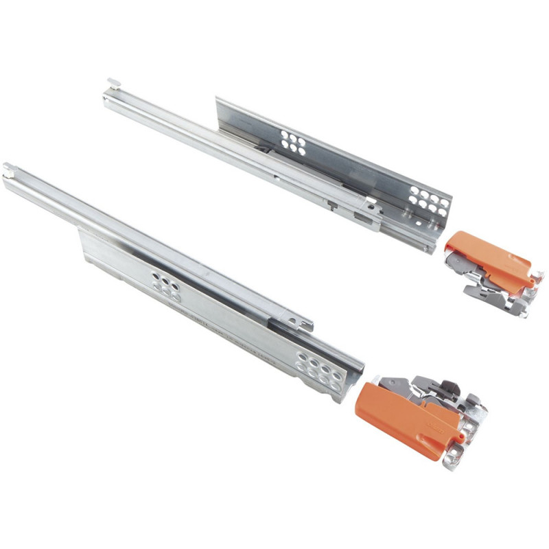 Blum Tandem Runner NL 550 MM Full Extension 30 Kg With Locking Bracket, Compatable With Tip-On