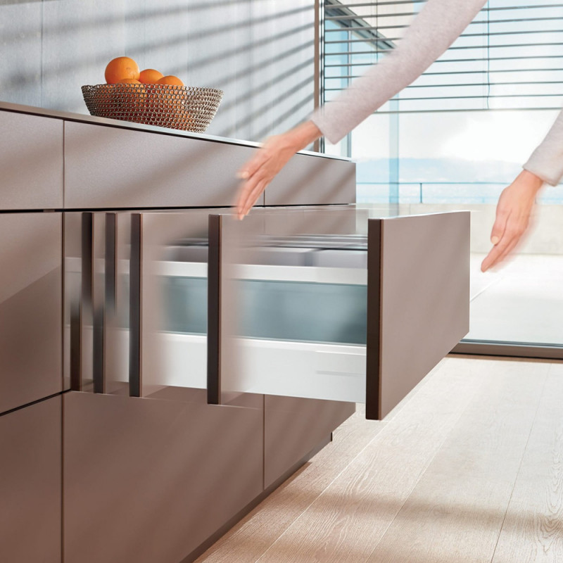 Blum Tandembox Intivo D-height Tip-on Blumotion Drawers (551.24.776)