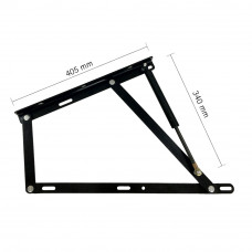 Hepo Bed Lift up (405 mm x 530 mm) Mechanism Frame...