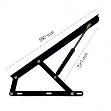 Hepo Bed Lift up (590 mm x 400 mm) Mechanism Frame...