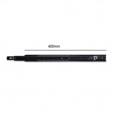 Hepo KA 3532  Telescopic Drawer Channel (Black) - ...