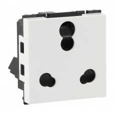 Havells 6/16 A 3 Pin Shuttered Socket (AHFKCXW163)