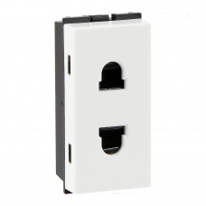 Havells 6 A 2 Pin Shuttered Socket (AHFKSXW062)