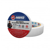 Abro Pvc Electrical Insulation White Tape - (18 mm...