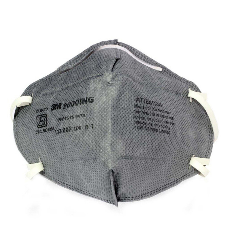 3M 9000ING Antipollution Riding Respirator (Pack of 10)