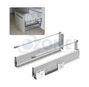 Ozone Ergotec Drawer System With Single Rails - (1...