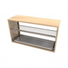Ozone SS Dish Rack With Drain Tray- 600 mm