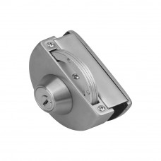 Hafele Curved Latch Lock for Glass Door with Strik...