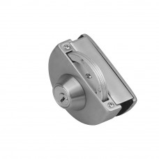Hafele Latch Lock for Glass Door with Strike Box, ...
