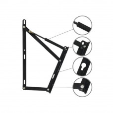 Ozone Bed Lift-up - 1500 mm, Black (Pack of 2)