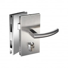 Ozone Glass Door Lock With Latch Bolt, Dead Bolt &...