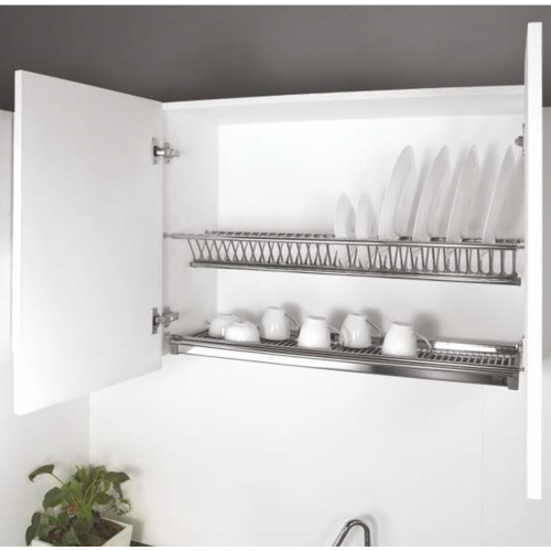 Buy Kaff Dish Drainer Rack With Stainless Steel Drip Tray Size 600 Mm Online At Best Prices On Mccoy Mart