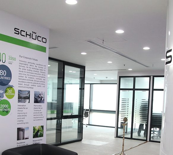First Schüco Showroom in India