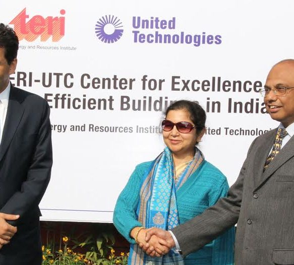 TERI-UTC Centre of Excellence Conducts Energy Audit