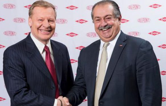 Dow and DuPont Enter into $130 Billion Merger