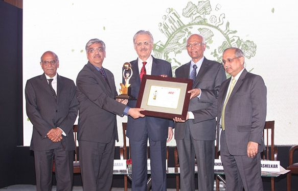 ACC wins the prestigious CII-ITC Sustainability Award 2015