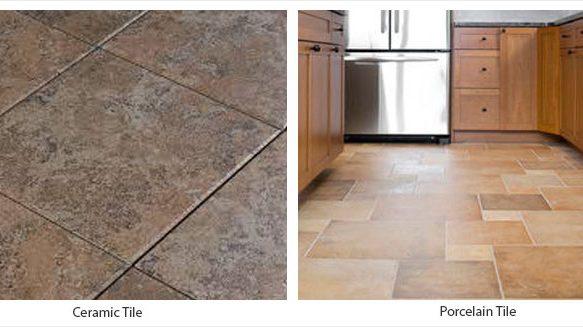 Ceramic Tile vs. Porcelain tile?