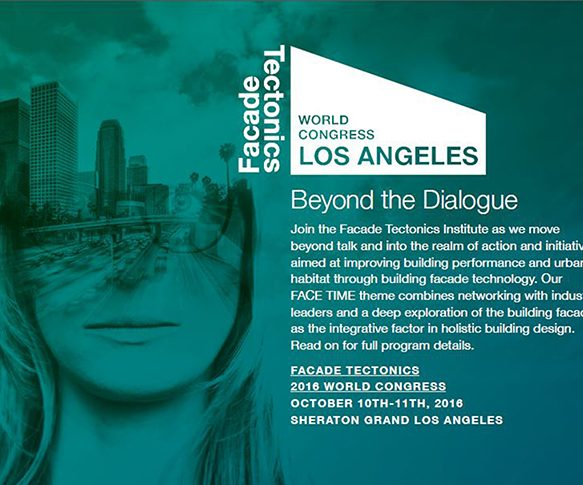 Facade Tectonics World Congressin Los Angeles