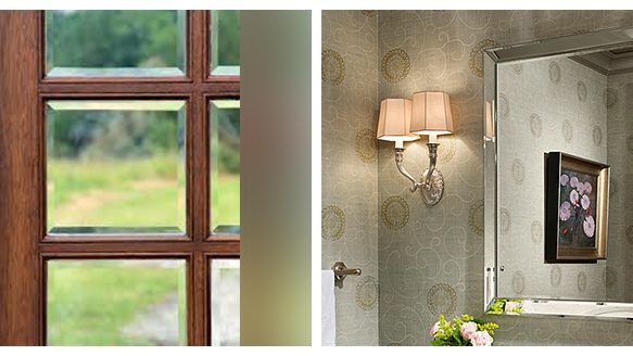 Why choose beveled glass or a beveled glass mirror?
