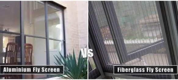 Aluminium Fly Screen Vs Fiberglass Fly Screen