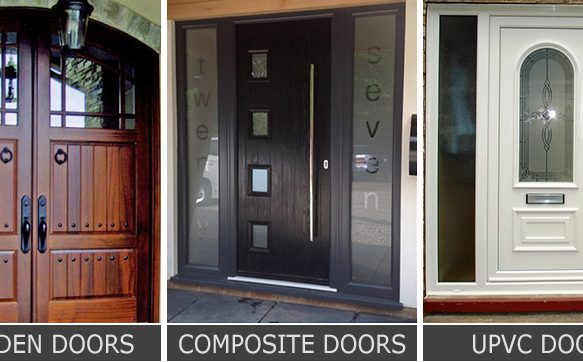 Wooden Door vs Composite Door vs uPVC Door