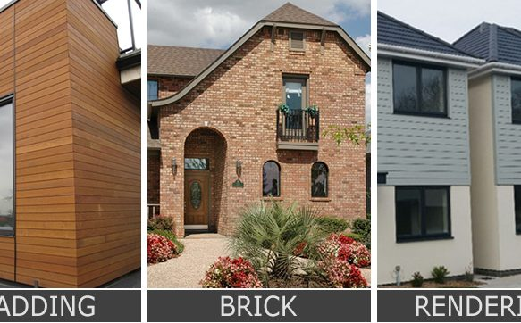 Cladding Vs Brick Vs Rendering For Exterior Walls