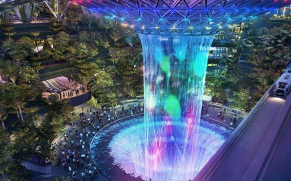Jewel Changi Airport's Canopy Park