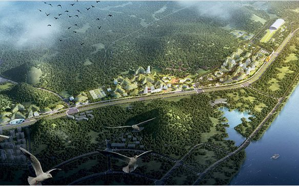 China's quest to resolve its pollution issues: The Liuzhou Forest City