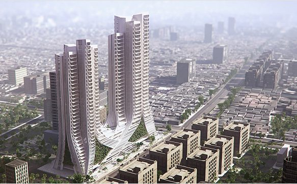 3XN's Grove Towers, Mumbai
