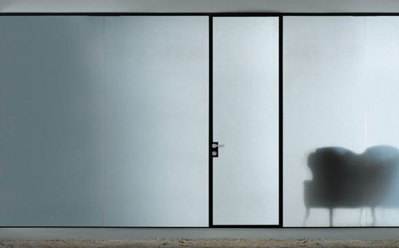 Frosted Glass: A Modern Solution for your Door Without Compromising Privacy