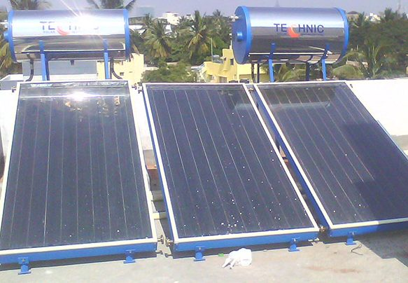 Solar Water Heater Working, Types, Uses And How To Make One