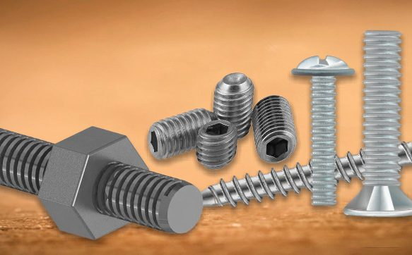 5 Different Types of Screws at a Glance