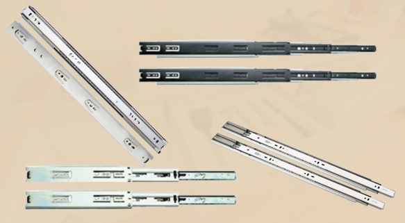 Types of Drawer Slides and Choosing the Correct Drawer Slides for Your Space