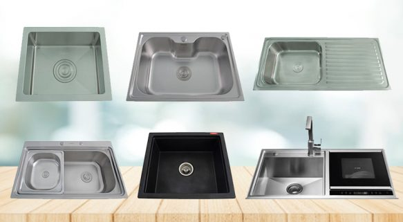 5 Types of Kitchen Sinks to Consider for Your Home