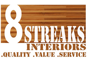 Eight Streaks Interiors logo