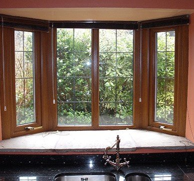 wooden french window designs