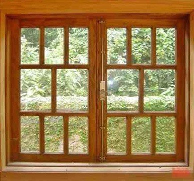 wooden window frame designs in india