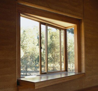modern wooden window frame designs