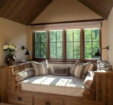 wooden window design for house