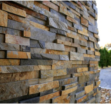 natural stone Wall cladding design