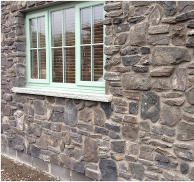 cobble stones wall cladding