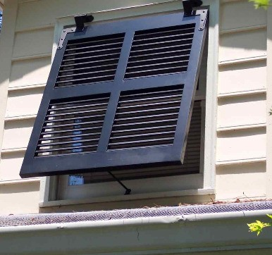 Diy Shutters Closed Louver Style