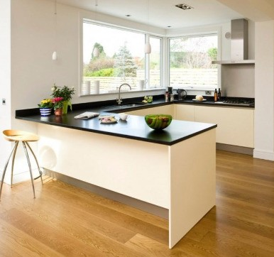 Wooden Floor Tiles For Modular Kitchen