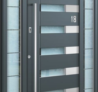 Contemporary lines blended Doors
