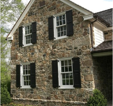 rugged texture stone cladding design